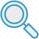 finance, find, magnifier, magnify, search, view icon