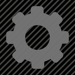 cog, cogwheel, gear, gear wheel, setting icon