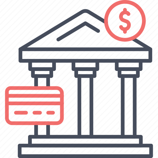 bank, banking, dollar, finance, money, transaction icon