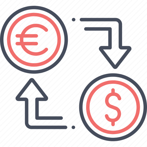 convert, currency, dollar, exchange, finance, money icon