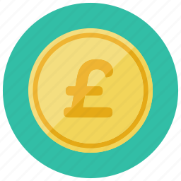 britian, british, coin, currency, finance, pound icon