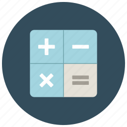 calculate, finance, math, minus, multiply, plus, signs icon
