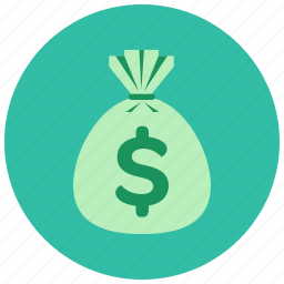bag, cash, dollar, finance, large, sum icon