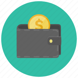 coin, currency, dollar, finance, payment, wallet icon