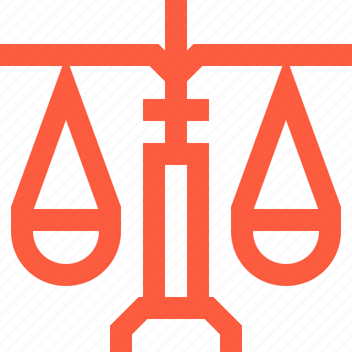 balance, justice, law, libra, measure, scales, weight icon