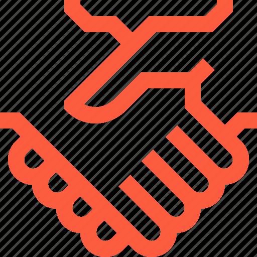 agreement, bargain, business, deal, hands, handshake, negotiation icon