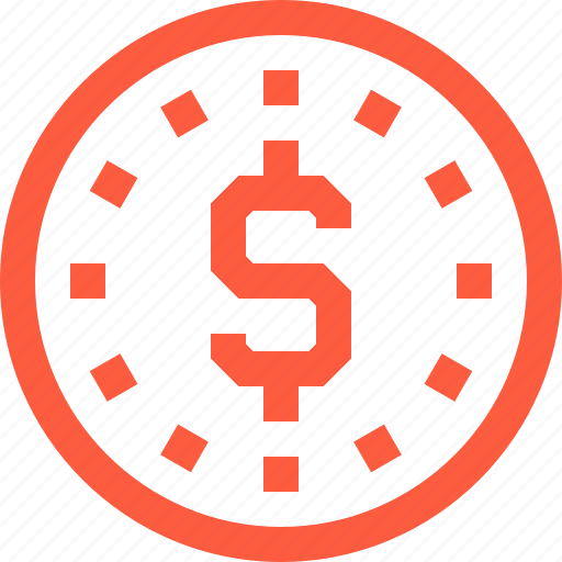 coin, crypto, currency, dollar, finance, money icon