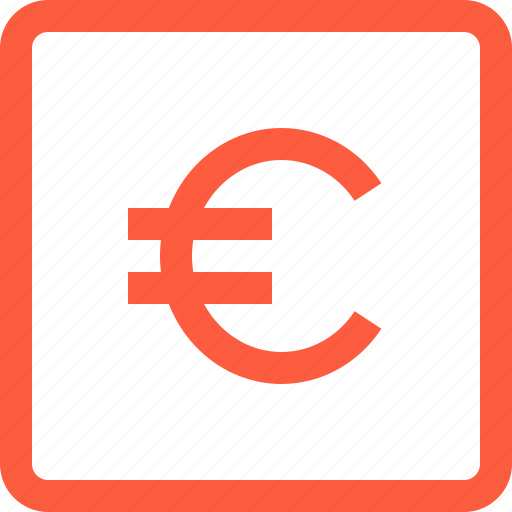 currency, eur, euro, finance, money icon