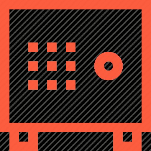box, deposit, finance, locker, money, safe, safebox icon