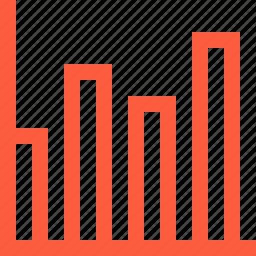 bars, chart, data, graph, index, information, statistics icon