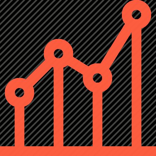 data, graph, index, information, point, statistics, stats icon