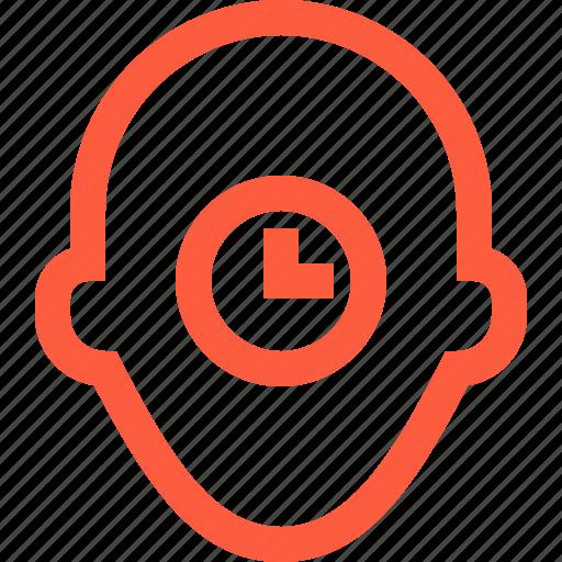 clock, deadline, person, profile, time, timer, user icon
