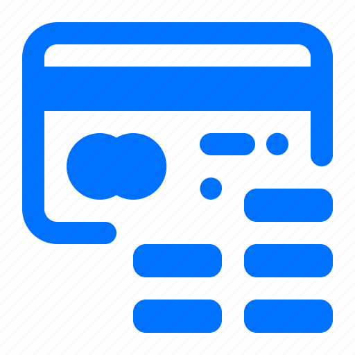 card, coins, credit, payment icon