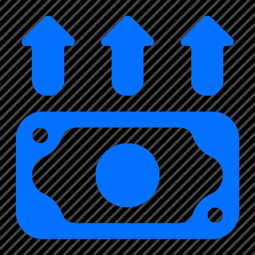 cash, finance, input, money icon