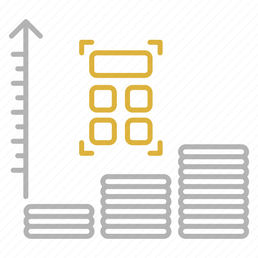 chart, expenses, financial, report icon