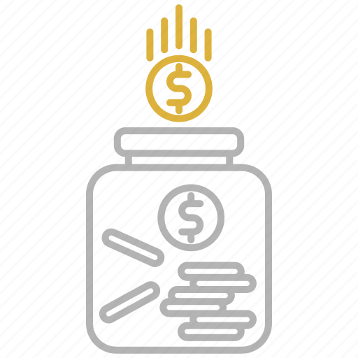 financial, fund, money, savings icon