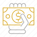 cash, financial, payment, shopping icon
