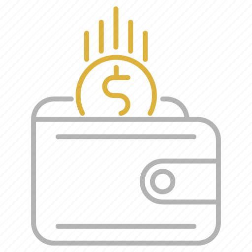 financial, payment, revenue, wallet icon