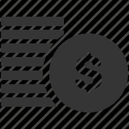 alt, bank, coins, money, savings icon