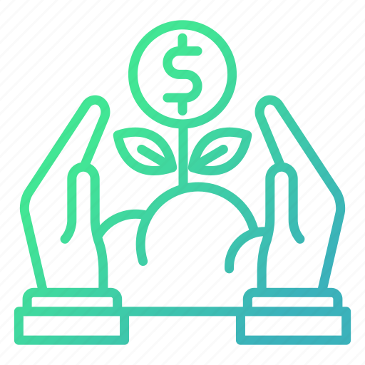 capital, finance, growth, investments icon