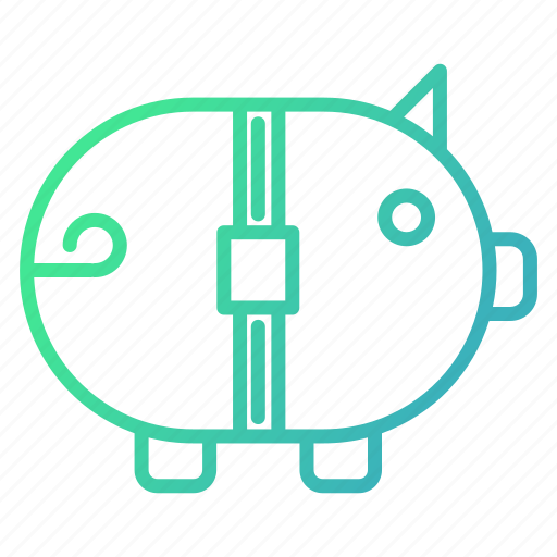 Austerity, bank, banking, finance, piggy, savings icon - Download on Iconfinder