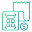accounting, budget, finance, financial, paper icon
