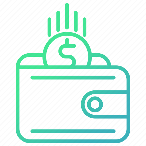finance, invest, investment, revenue, wallet icon
