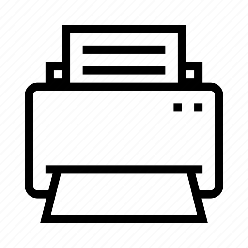 business, office, print, printer icon
