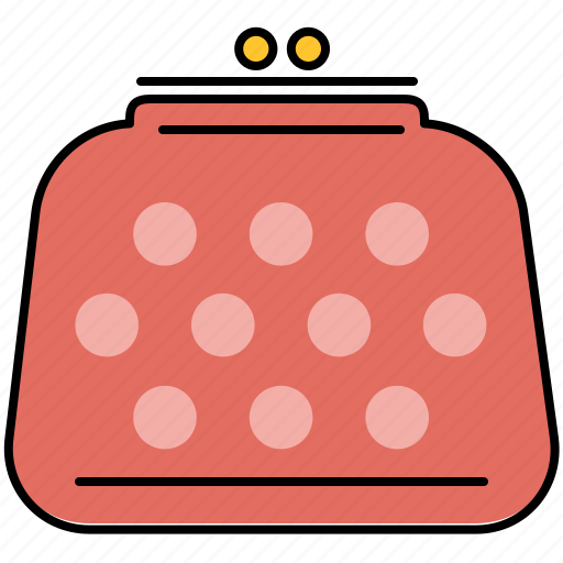 coin, finance, payment, purse icon