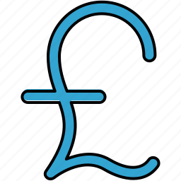 currency, english, finance, payment, pound icon
