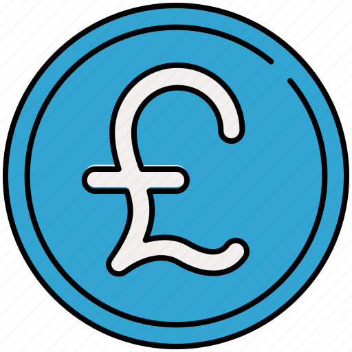 coin, currency, english, finance, payment, pound icon
