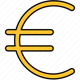 currency, euro, finance, payment icon