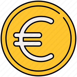coin, currency, euro, finance, payment icon