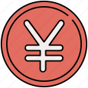 currency, finance, money, payment, yen icon