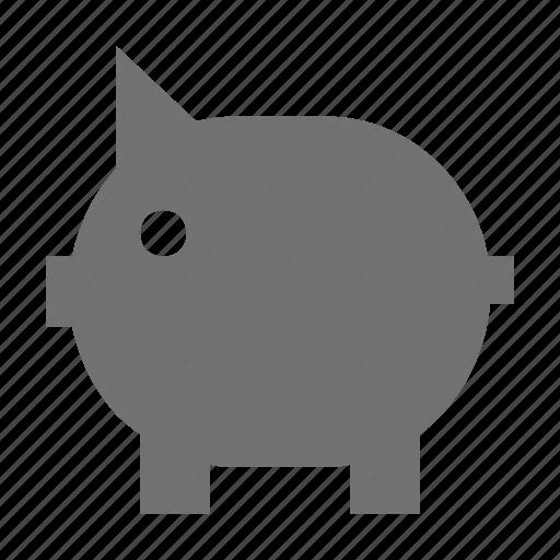 balance, money stock, piggy, piggy bank, savings icon