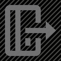 arrow sign, bankcard arrow, card, credit card, credit card with arrow icon