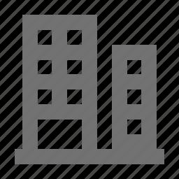 bank building, building, finance building, financial building, trade center icon