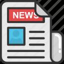 article, blog, newspaper, press, print media