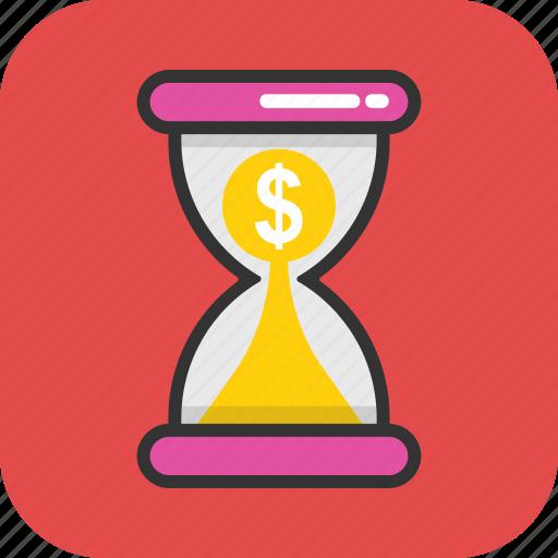 marketing strategy, profit, savings, superannuation, time is money icon