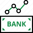 analyze, banking, data icon