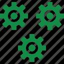 gear, money, plan icon