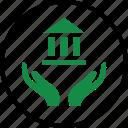 hand, money, wealth icon
