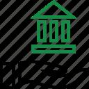 business, holding, money icon
