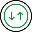 business, market, rate, stock icon