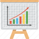 business analysis, business chart, business growth, financial increase, profit analysis icon