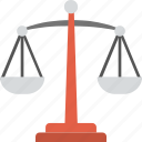 balance scale, justice, law, libra sign, measurement icon