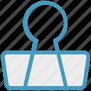 business, clip, finance, marketing, office, paper clip icon