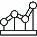 business, enterprise, finance, growth statistic icon