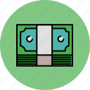 cash, finance, money, payment, stack icon