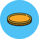 cash, coin, finance, money, payment icon